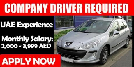 COMPANY DRIVER REQUIRED