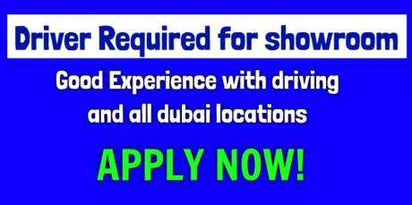 Driver Required for showroom