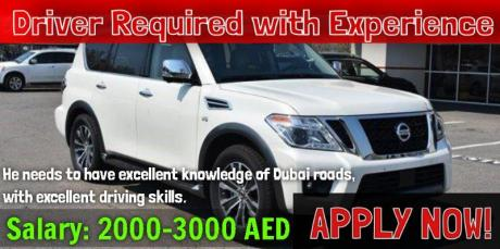 Driver Required with Experience