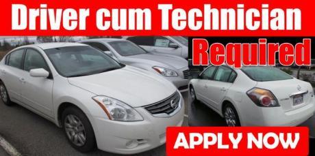 Driver cum A/C Technician Required