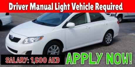 Driver Manual Light Vehicle Required